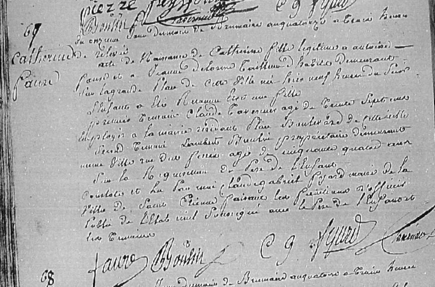 ° 1805 FAURE Catherine