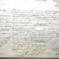 ° 1845 ANDRE Marie Virginie Stéphanie