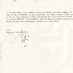+ 1919 du COLOMBIER Victor Jean